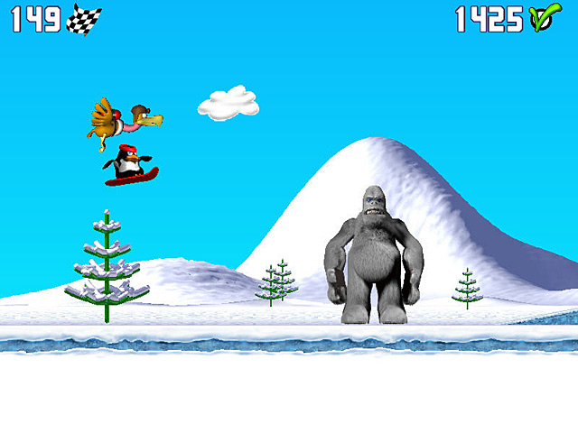 Penguin versus Yeti img