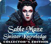 Spelletjes downloaden voor pc : Sable Maze: Sinister Knowledge Collector's Edition