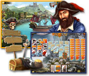 Spelletjes voor windows - Seven Seas Solitaire