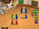 1. Snowy Lunch Rush spel screenshot