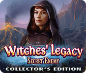 Spelletjes downloaden voor pc : Witches' Legacy: Secret Enemy Collector's Edition