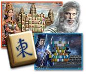 Spelletjes downloaden voor pc : World's Greatest Temples Mahjong