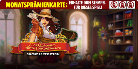 Alicia Quatermain: Secrets Of The Lost Treasures Sammleredition