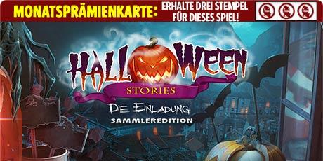 Halloween Stories: Die Einladung Sammleredition