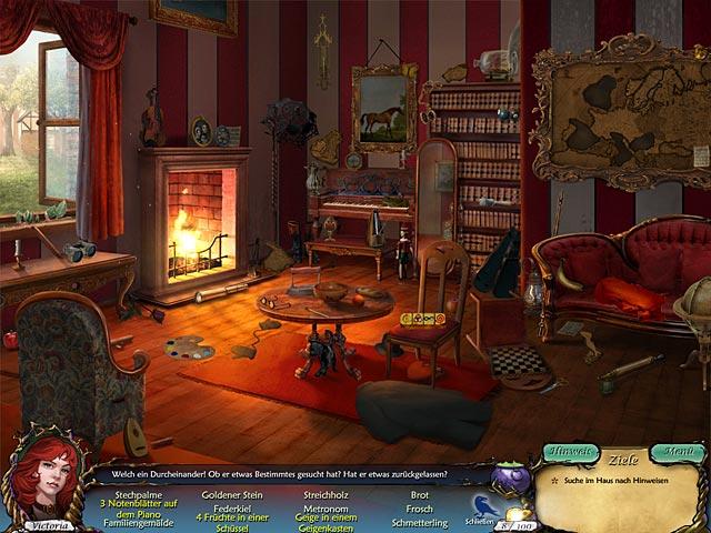 Aufregendes Wimmelbildspiel um Vampire