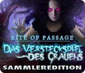 Rite of Passage: Das Versteckspiel des Grauens Sammleredition