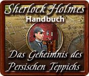 Sherlock Holmes: Das Geheimnis des persischen Teppichs Handbuch Puzzle-Spiel
