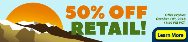Today Only! Half Off Retail On All Games!