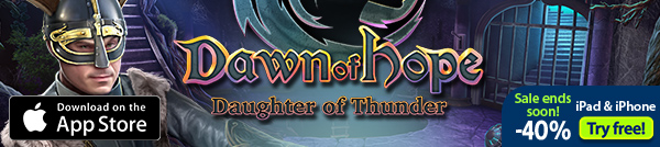 iOS Dawn of Hope: Daughter of Thunder Collector's Edition