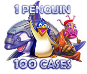 1 Penguin 100 Cases for Mac Game