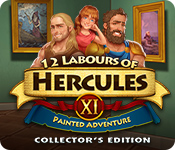 12 Labours of Hercules XI: Painted Adventure Collector's Edition for Mac Game