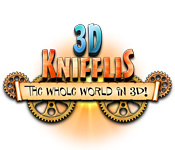 software puzzle games casual games  3D Knifflis : The Whole World in 3D!