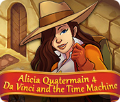 Alicia Quatermain 4: Da Vinci and the Time Machine for Mac Game