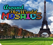 Around The World Mosaics for Mac Game