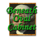 Beneath Oval Cabinet