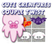 Cute Creatures Couple Twist