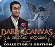 Dark Canvas: A Murder Exposed Collector's Edition for Mac Game