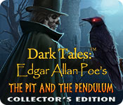 Dark Tales: Edgar Allan Poe's The Pit and the Pendulum Collector's Edition for Mac Game