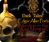 software logic puzzles hidden object mystery software casual games adventure games  Dark Tales: Edgar Allan Poes Murders in the Rue Morgue Collectors Edition