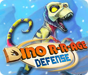 Dino R-r-age Defense for Mac Game
