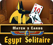 Egypt Solitaire Match 2 Cards for Mac Game