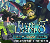 Elven Legend 8: The Wicked Gears Collector's Edition for Mac Game