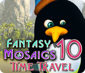 Fantasy Mosaics 10: Time Travel for Mac Game