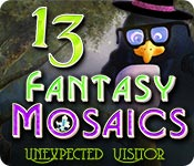 Fantasy Mosaics 13: Unexpected Visitor for Mac Game