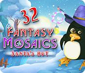 Fantasy Mosaics 32: Santa's Hut for Mac Game
