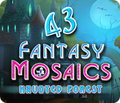 Fantasy Mosaics 43: Haunted Forest for Mac Game
