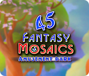 Fantasy Mosaics 45: Amusement Park for Mac Game