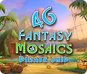 Fantasy Mosaics 46: Pirate Ship for Mac Game