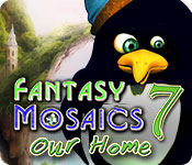 Fantasy Mosaics 7: Our Home for Mac Game