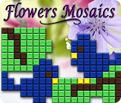 Flowers Mosaics for Mac Game