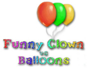 Funny Clown vs Balloons
