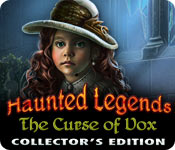 Haunted Legends: The Curse of Vox Collector's Edition for Mac Game