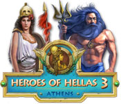 software match 3 hidden object mystery software casual games  Heroes of Hellas 3: Athens