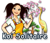 Enjoy the new game: Koi Solitaire