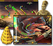strategy games software puzzle games casual games adventure games  Luxor: Quest for the Afterlife