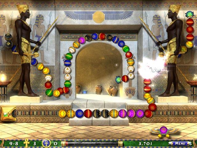 تحميل لعبة الاقصر Luxor 3 مجانا للكمبيوتر