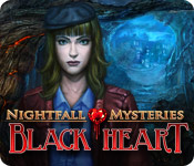 Nightfall Mysteries: Black Heart for Mac Game