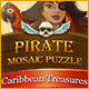 Pirate Mosaic Puzzle: Caribbean Treasures