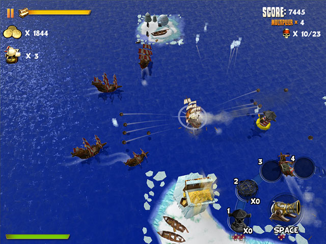 a free online game - Pirates of Black Cove: Sink 'Em All!