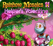 Rainbow Mosaics 11: Helper's Valentine for Mac Game