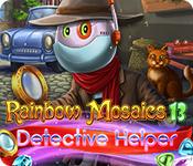 Rainbow Mosaics 13: Detective Helper for Mac Game