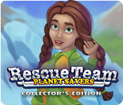 Rescue Team: Planet Savers Collector's Edition for Mac Game