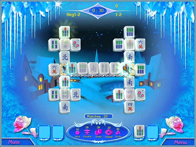 Snow Queen Mahjong screen1.jpg