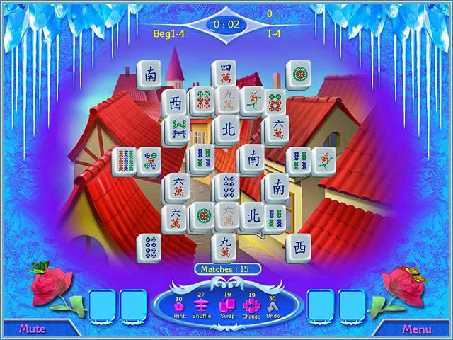 Snow Queen Mahjong screen2.jpg