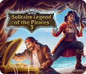 Solitaire Legend Of The Pirates 3 for Mac Game