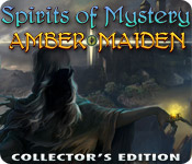 strategy games software hidden object mystery software casual games adventure games  Spirits of Mystery: Amber Maiden Collectors Edition
